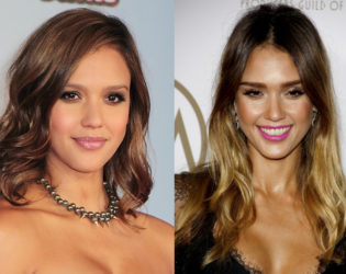 Jessica Alba Red Carpet Hairstyles Through the Years