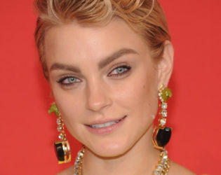 Jessica Stam Cfda Awards 2013 Hairstyle