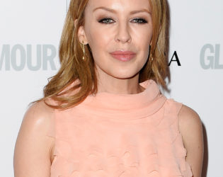 Kylie Minogue Loose And Simple Hairstyle From Glamour Women Of The Year Awards 2013