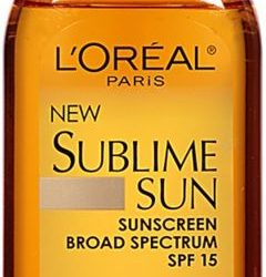 L'oréal Sublime Sun Sheer Protect Sunscreen Oil Spf 15