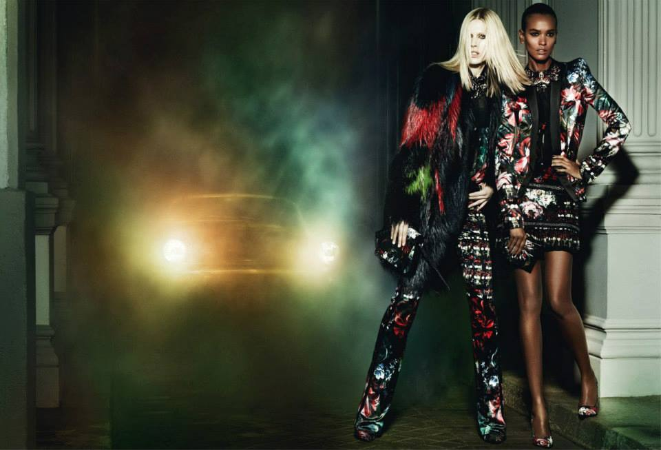 Looks From Roberto Cavalli's Fall 2013 Ad Campaign