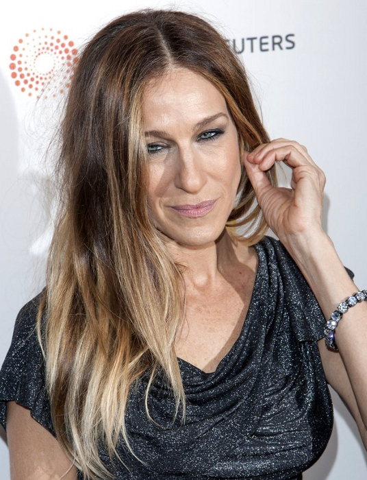 Sarah Jessica Parker Ombre Hair Color