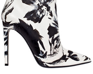 Roberto Cavalli Painted Ankle Boots