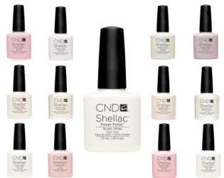 Shellac French Manicure Shades