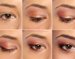 Summer Bright Eye Makeup Step By Step