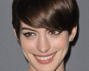 Anne Hathaway Grown Pixie