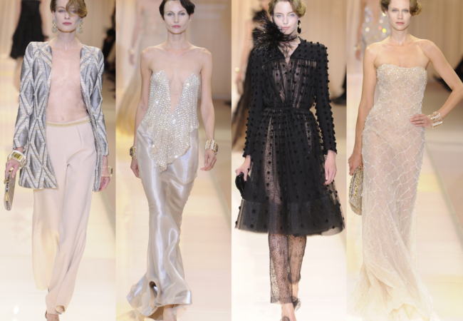 Armani Privé Fall 2013 Couture Collection