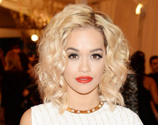 Celebrities with Blond Hair and Dark Eyebrows