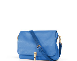 Elizabeth And James Electric Blue Leather Cross Body