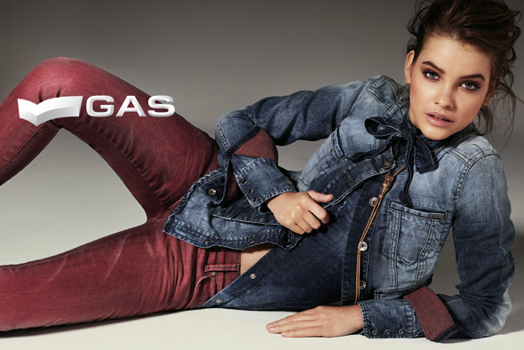 Barbara Palvin for Gas Jeans Fall 2013 Campaign