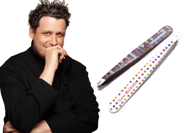 Isaac Mizrahi and Tweezerman Team Up For Limited Edition Line