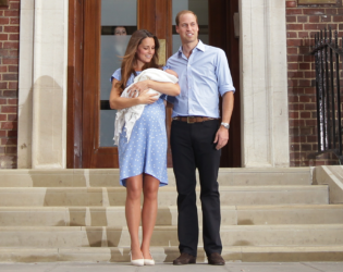Kate Middleton Prince William Baby Picture