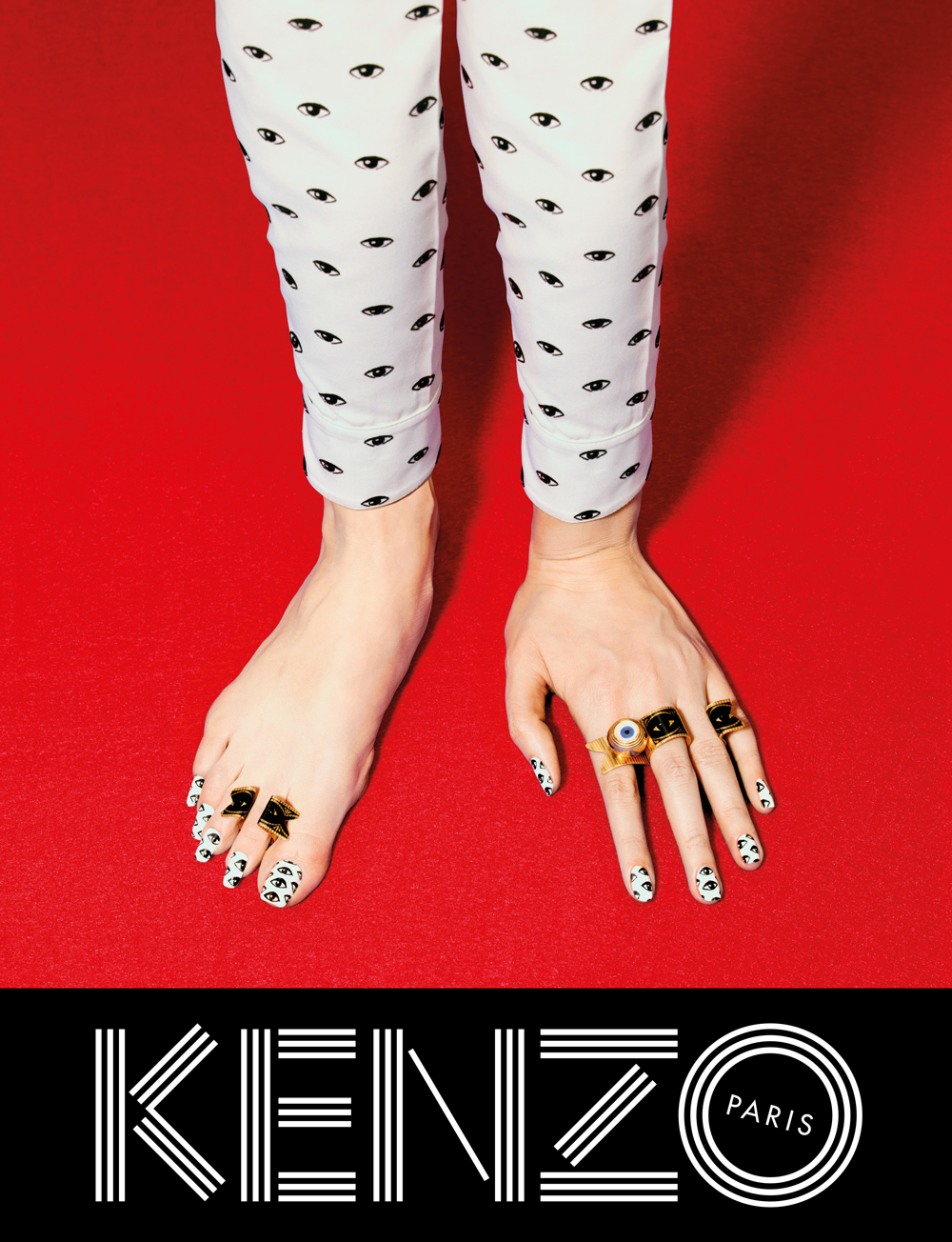 Kenzo Fall 2013 Campaign Look (3)