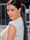 Kim Kardashian Sleek Ponytail Hairstyle