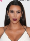 Kim Kardashian Straight Hairstyle Look