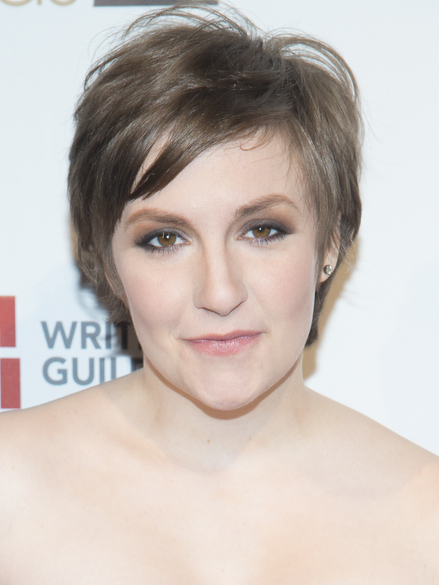 Pictures How To Grow Out A Pixie Cut Faster Lena Dunham Grown Pixie