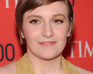 Lena Dunham Grown Pixie Look