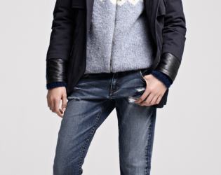 Maje Fall Winter 2013 Collection Look  (12)