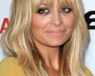 Nicole Richie Choppy Bangs