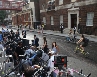 Press Waiting For Royal Baby Delivery