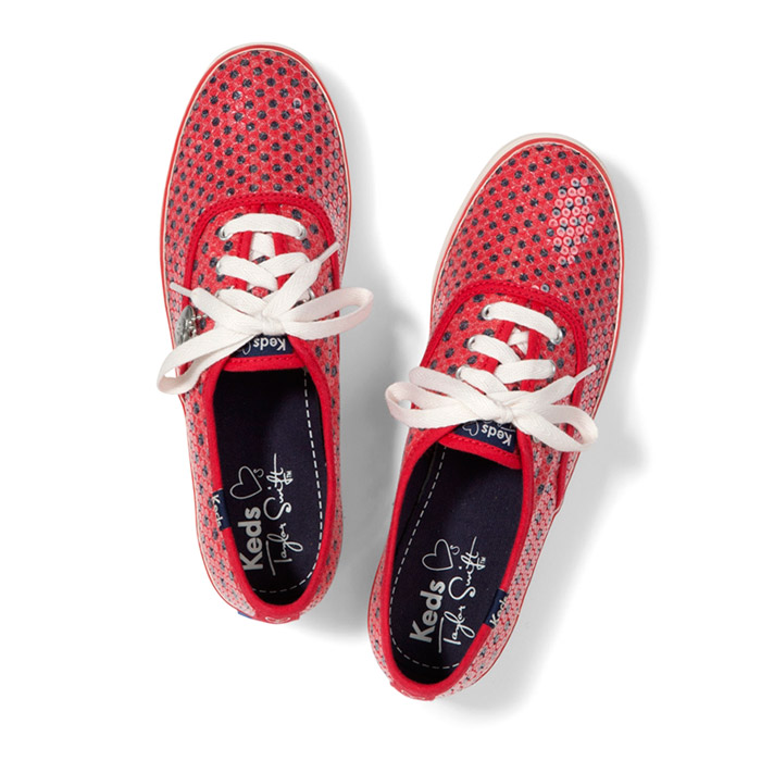 Taylor Swift For Keds 2013 Sneakers Look  6