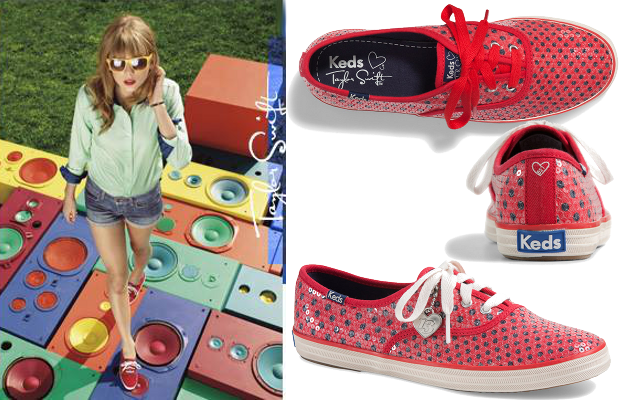 Taylor Swift for Keds Second Shoe Collection