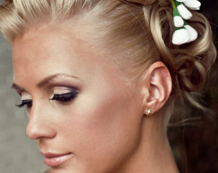 Wedding Updos For Short Haircuts