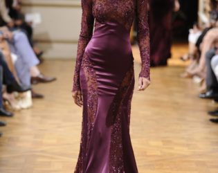 Zuhair Murad Fall 2013 Couture Collection Look  1