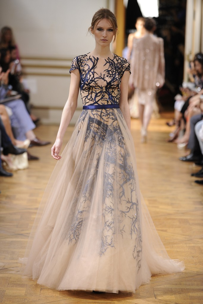 Zuhair Murad Fall 2013 Couture Collection Look  4