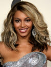 Beyonce Brown Hair With Platinum Highlights