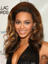 Beyonce With Caramel Blonde Hair Color