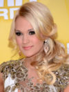 Carrie Underwood Hair With Platinum Highlights