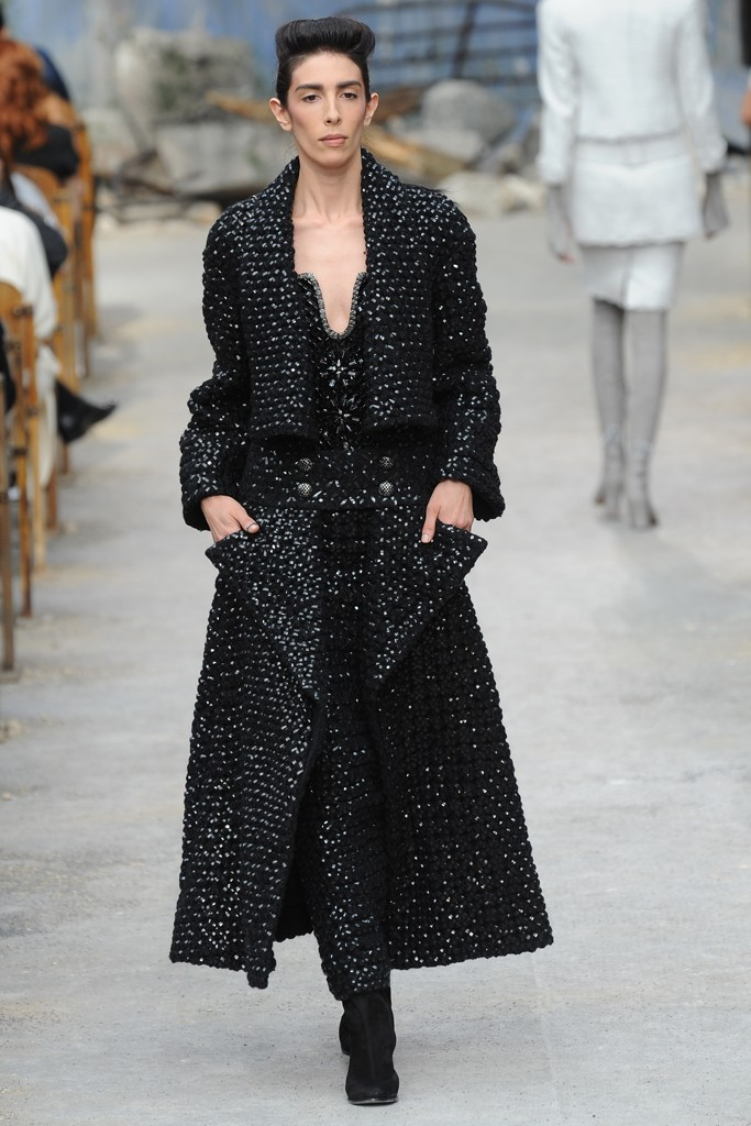 Chanel Couture Fall 2013 Look 17