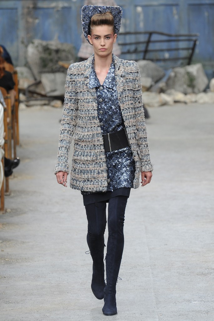 Chanel Couture Fall 2013 Look 2