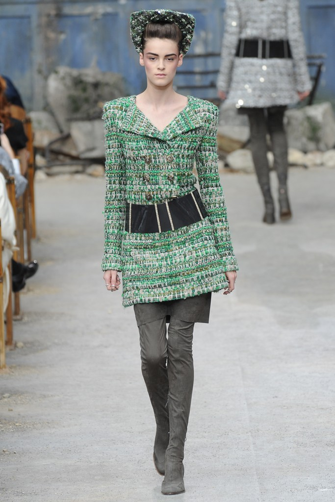 Chanel Couture Fall 2013 Look 3