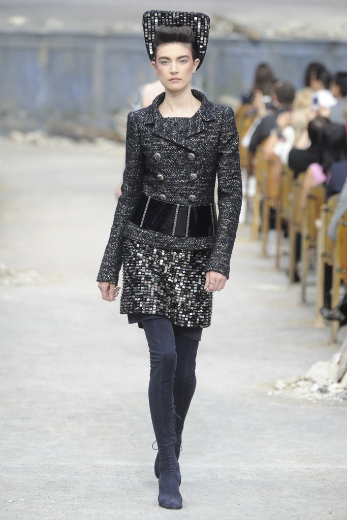 Chanel Couture Fall 2013 Look 34