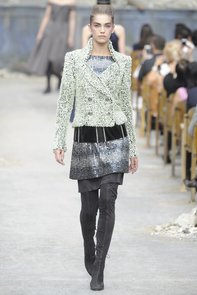 Chanel Couture Fall 2013 Look 36