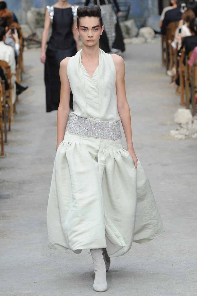 Chanel Couture Fall 2013 Look 39