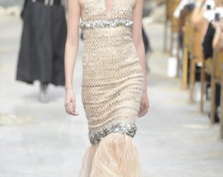 Chanel Couture Fall 2013 Look 42