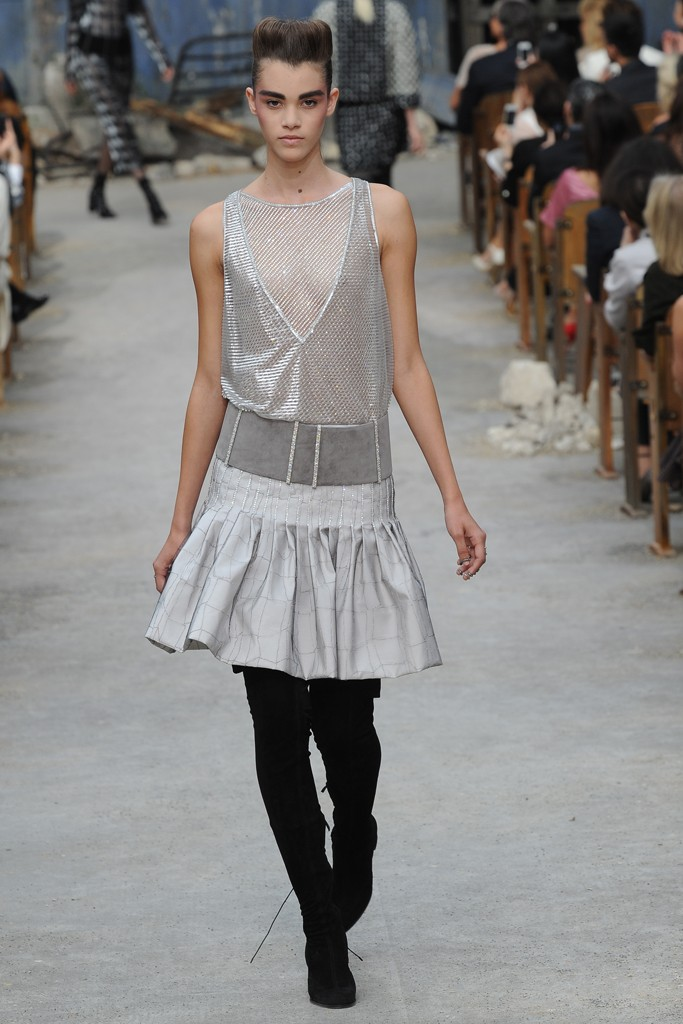 Chanel Couture Fall 2013 Look 45