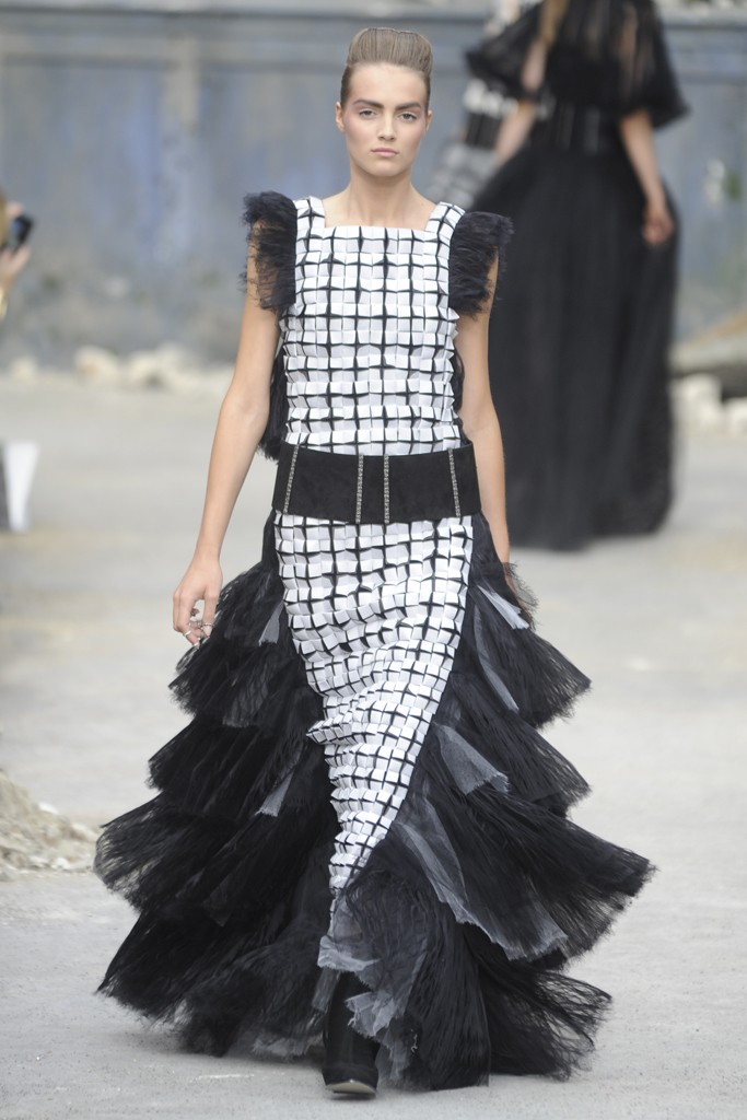 Chanel Couture Fall 2013 Look 55