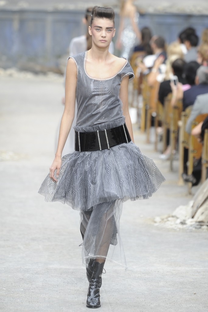 Chanel Couture Fall 2013 Look 61