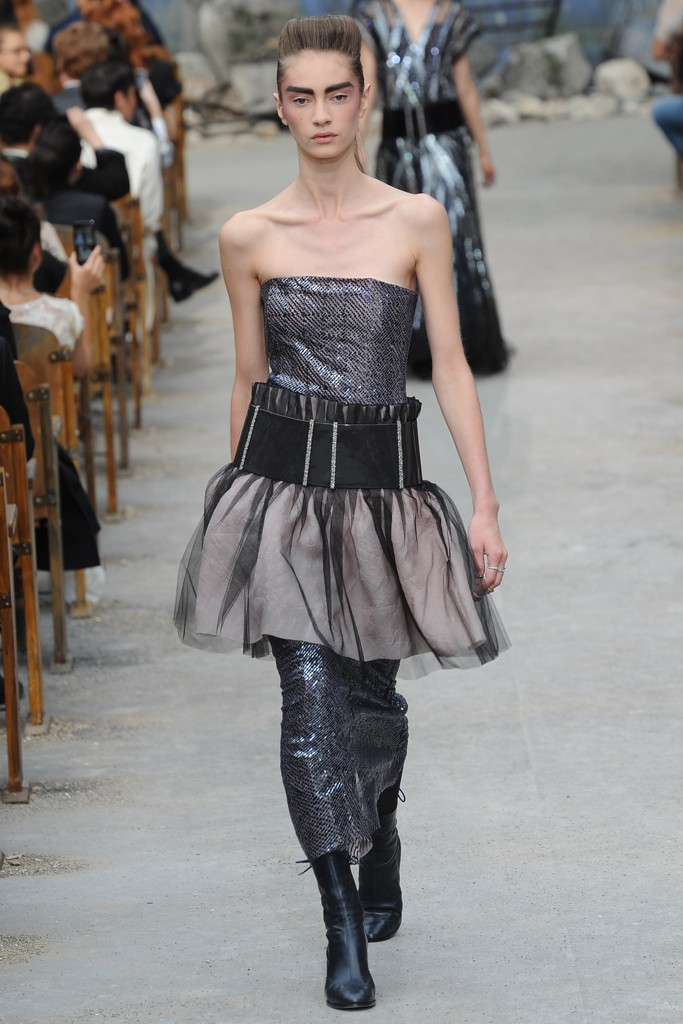 Chanel Couture Fall 2013 Look 62