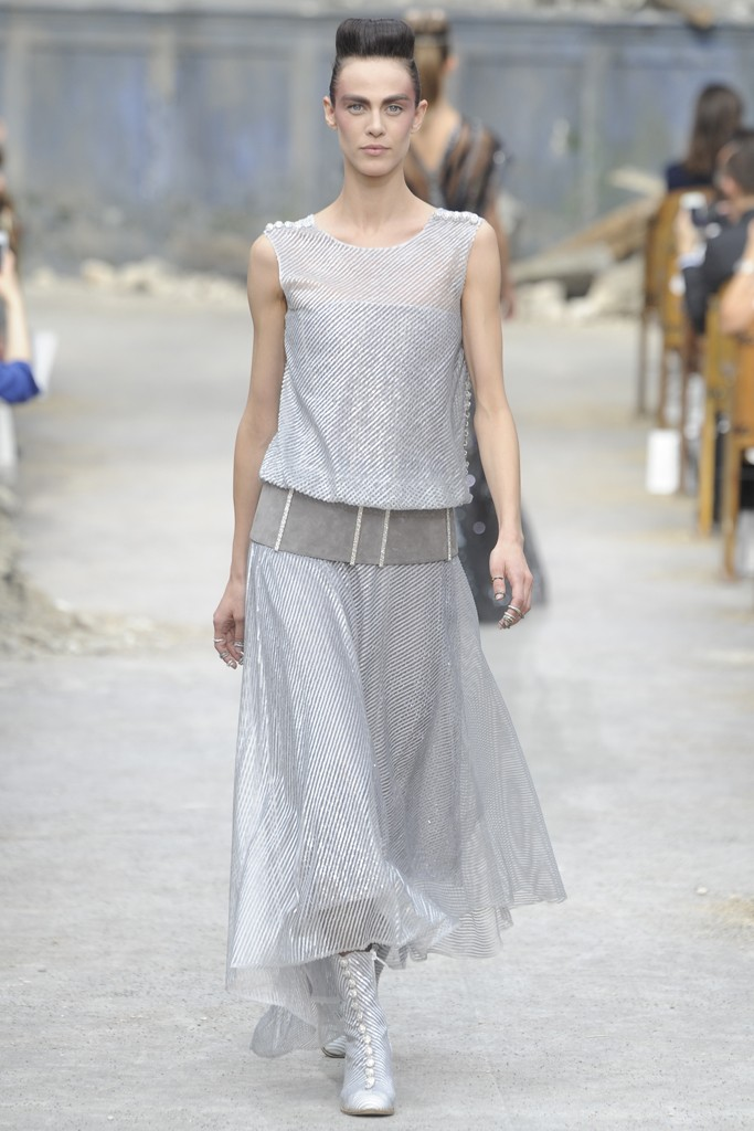 Chanel Couture Fall 2013 Look 65