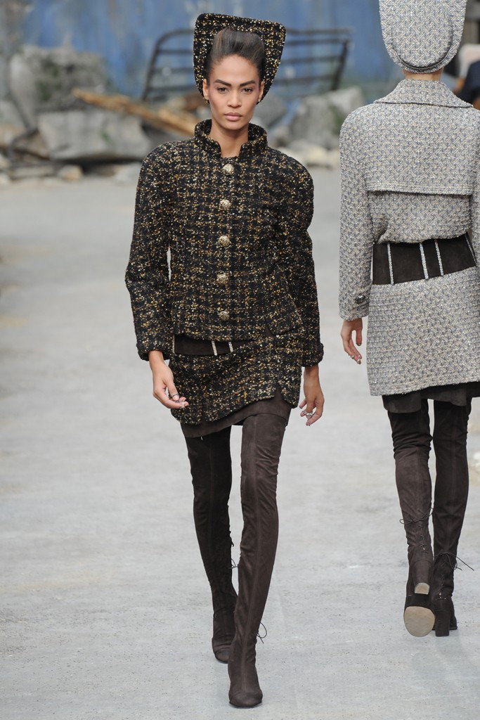 Chanel Couture Fall 2013 Look 7