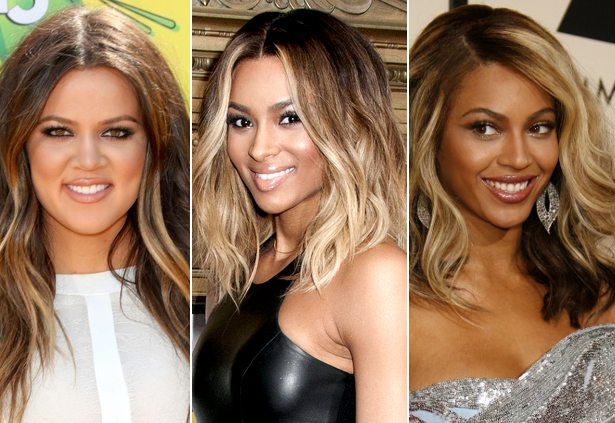 Celebrities With Blonde Hair Highlights