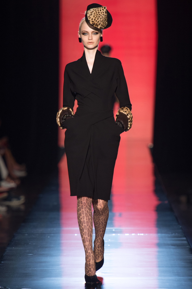 Jean Paul Gaultier Couture Look 2 Fall 2013
