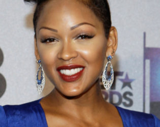 Meagan Good Glam Punk Short Hairstyle