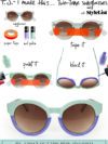 Diy Color Block Sunglasses