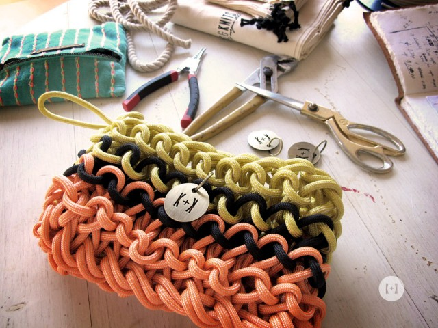 Diy Knitted Bag